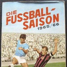 Álbum de fútbol completo: ALBUM DE CROMOS SICKER BUNDESLIGA 1965-66 - 100% COMPLETO. Lote 29756393