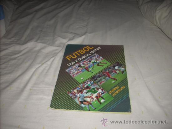 ALBUM DE LA LIGA 1987-88 DE FESTIVAL COMPLETO (Coleccionismo Deportivo - Álbumes y Cromos de Deportes - Álbumes de Fútbol Completos)
