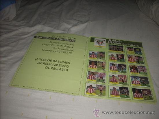 Álbum de fútbol completo: ALBUM DE LA LIGA 1987-88 DE FESTIVAL COMPLETO - Foto 2 - 45240321