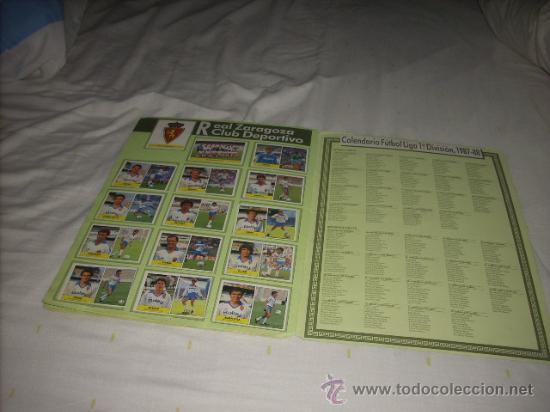 Álbum de fútbol completo: ALBUM DE LA LIGA 1987-88 DE FESTIVAL COMPLETO - Foto 5 - 45240321