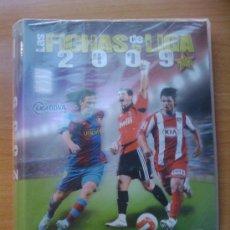 Álbum de fútbol completo: ALBUM ARCHIVADOR LAS FICHAS DE LA LIGA 2009 MUNDICROMO - . Lote 30069742