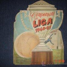 Álbum de fútbol completo: ALBUM DE FUTBOL LIGA 1960-1961 (COMPLETO). Lote 30104452