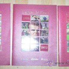 Álbum de fútbol completo: COLECCION CASI COMPLETA EL ALBUM DEL BARÇA LOS 3 ALBUMS. Lote 30206996