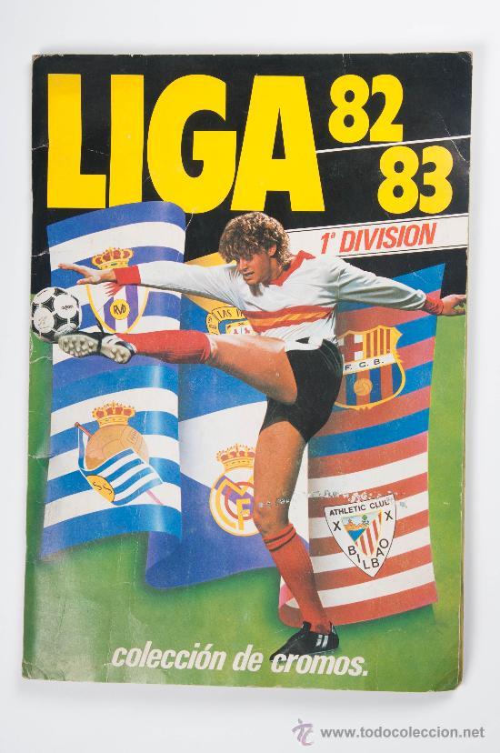 FUTBOL - ALBUM LIGA 82-83, 1ª DIVISIÓN, EDICIONES ESTE, AÑO 1982 (Coleccionismo Deportivo - Álbumes y Cromos de Deportes - Álbumes de Fútbol Completos)