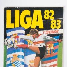 Álbum de fútbol completo: FUTBOL - ALBUM LIGA 82-83, 1ª DIVISIÓN, EDICIONES ESTE, AÑO 1982. Lote 30356619