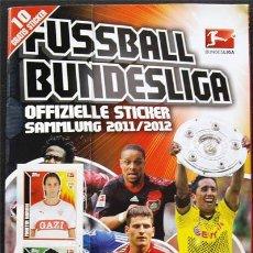 Álbum de fútbol completo: ALBUM DE CROMOS TOPPS BUNDESLIGA 2011-2012 - 100% COMPLETO. Lote 30411637