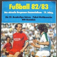 Álbum de fútbol completo: ALBUM DE CROMOS BERGMANN BUNDESLIGA 1982-83 - 100% COMPLETO. Lote 30411899