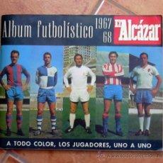 Álbum de fútbol completo: ALBUM FUTBOLISTICO 1967-1968, 67-68 EL ALCÁZAR - COMPLETO. Lote 30485789