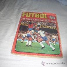Álbum de fútbol completo: ALBUM DE LA LIGA 1977-78 DE RUIZ ROMERO COMPLETO. Lote 30563235