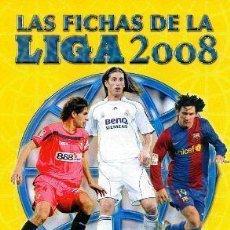 Álbum de fútbol completo: ALBUM DE CROMOS COMPLETO MUNDICROMO FICHAS DE LA LIGA 2008. Lote 30613812