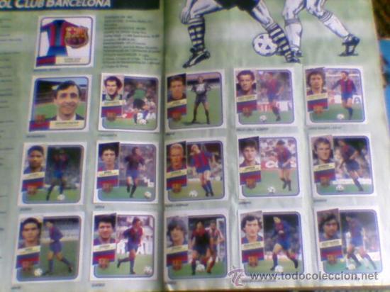 Álbum de fútbol completo: Album cromos completo Este Futbol Liga 89-90 incluido cromo BUSTINGORRI fichaje 11 - Foto 6 - 30617257