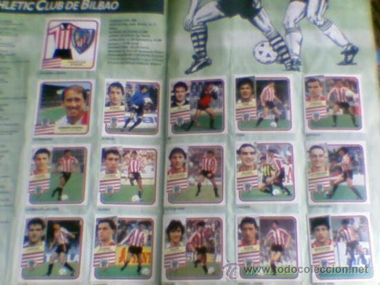 Álbum de fútbol completo: Album cromos completo Este Futbol Liga 89-90 incluido cromo BUSTINGORRI fichaje 11 - Foto 5 - 30617257