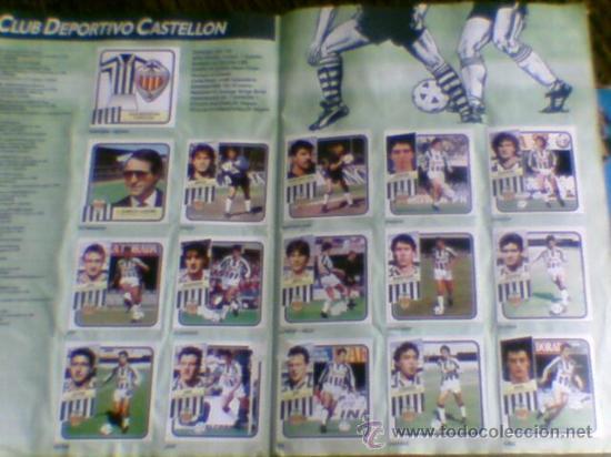 Álbum de fútbol completo: Album cromos completo Este Futbol Liga 89-90 incluido cromo BUSTINGORRI fichaje 11 - Foto 3 - 30617257