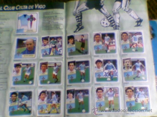 Álbum de fútbol completo: Album cromos completo Este Futbol Liga 89-90 incluido cromo BUSTINGORRI fichaje 11 - Foto 2 - 30617257