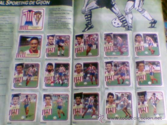 Álbum de fútbol completo: Album cromos completo Este Futbol Liga 89-90 incluido cromo BUSTINGORRI fichaje 11 - Foto 7 - 30617257