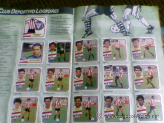 Álbum de fútbol completo: Album cromos completo Este Futbol Liga 89-90 incluido cromo BUSTINGORRI fichaje 11 - Foto 12 - 30617257
