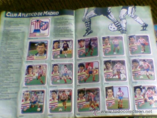 Álbum de fútbol completo: Album cromos completo Este Futbol Liga 89-90 incluido cromo BUSTINGORRI fichaje 11 - Foto 13 - 30617257