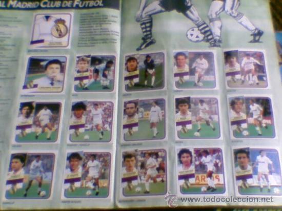 Álbum de fútbol completo: Album cromos completo Este Futbol Liga 89-90 incluido cromo BUSTINGORRI fichaje 11 - Foto 14 - 30617257