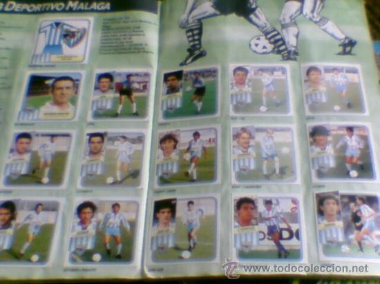 Álbum de fútbol completo: Album cromos completo Este Futbol Liga 89-90 incluido cromo BUSTINGORRI fichaje 11 - Foto 15 - 30617257