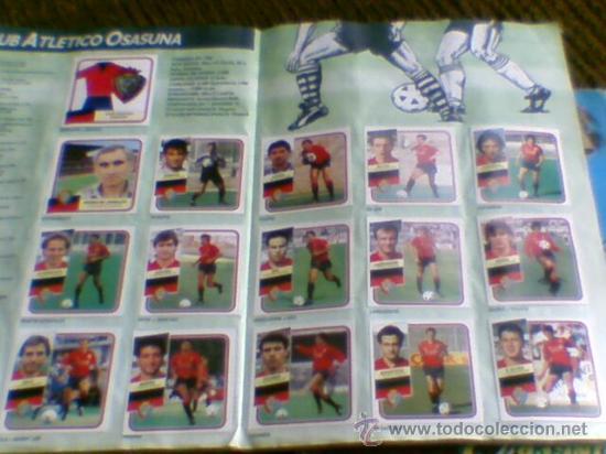 Álbum de fútbol completo: Album cromos completo Este Futbol Liga 89-90 incluido cromo BUSTINGORRI fichaje 11 - Foto 17 - 30617257