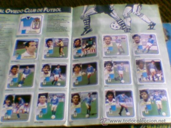 Álbum de fútbol completo: Album cromos completo Este Futbol Liga 89-90 incluido cromo BUSTINGORRI fichaje 11 - Foto 18 - 30617257