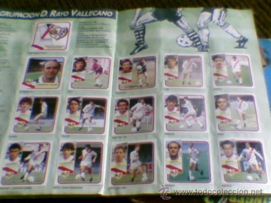 Álbum de fútbol completo: Album cromos completo Este Futbol Liga 89-90 incluido cromo BUSTINGORRI fichaje 11 - Foto 19 - 30617257