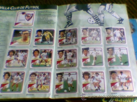 Álbum de fútbol completo: Album cromos completo Este Futbol Liga 89-90 incluido cromo BUSTINGORRI fichaje 11 - Foto 20 - 30617257