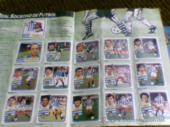Álbum de fútbol completo: Album cromos completo Este Futbol Liga 89-90 incluido cromo BUSTINGORRI fichaje 11 - Foto 21 - 30617257