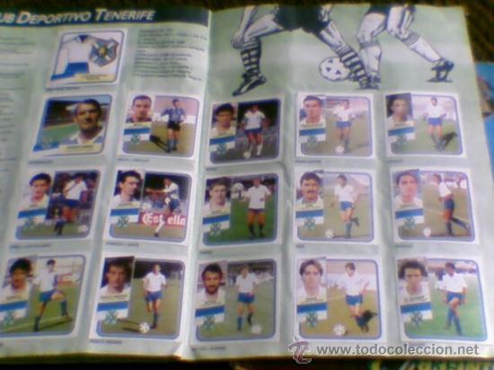 Álbum de fútbol completo: Album cromos completo Este Futbol Liga 89-90 incluido cromo BUSTINGORRI fichaje 11 - Foto 22 - 30617257