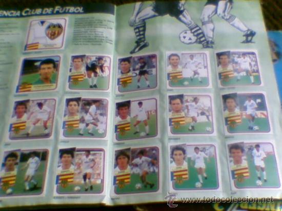 Álbum de fútbol completo: Album cromos completo Este Futbol Liga 89-90 incluido cromo BUSTINGORRI fichaje 11 - Foto 23 - 30617257