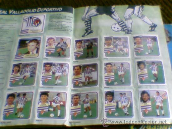 Álbum de fútbol completo: Album cromos completo Este Futbol Liga 89-90 incluido cromo BUSTINGORRI fichaje 11 - Foto 24 - 30617257
