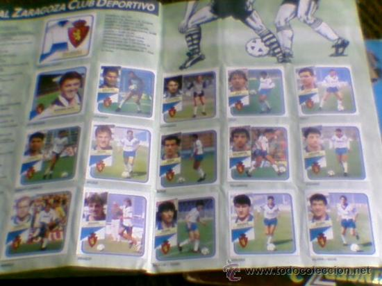 Álbum de fútbol completo: Album cromos completo Este Futbol Liga 89-90 incluido cromo BUSTINGORRI fichaje 11 - Foto 25 - 30617257