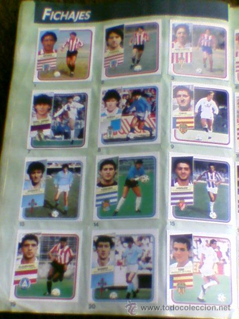 Álbum de fútbol completo: Album cromos completo Este Futbol Liga 89-90 incluido cromo BUSTINGORRI fichaje 11 - Foto 26 - 30617257