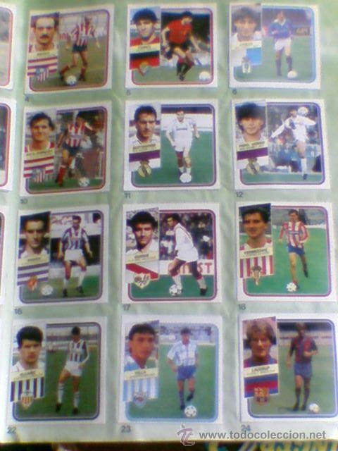 Álbum de fútbol completo: Album cromos completo Este Futbol Liga 89-90 incluido cromo BUSTINGORRI fichaje 11 - Foto 27 - 30617257