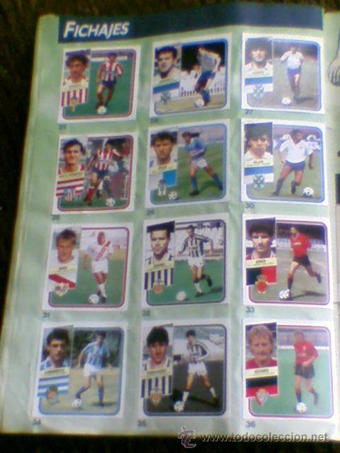 Álbum de fútbol completo: Album cromos completo Este Futbol Liga 89-90 incluido cromo BUSTINGORRI fichaje 11 - Foto 32 - 30617257