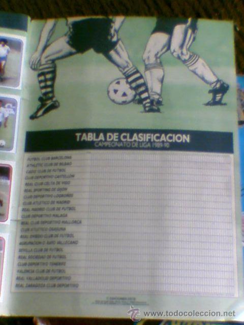 Álbum de fútbol completo: Album cromos completo Este Futbol Liga 89-90 incluido cromo BUSTINGORRI fichaje 11 - Foto 31 - 30617257