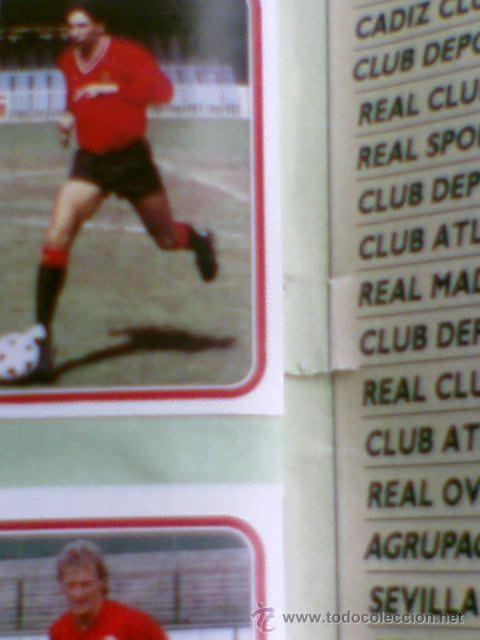 Álbum de fútbol completo: Album cromos completo Este Futbol Liga 89-90 incluido cromo BUSTINGORRI fichaje 11 - Foto 30 - 30617257