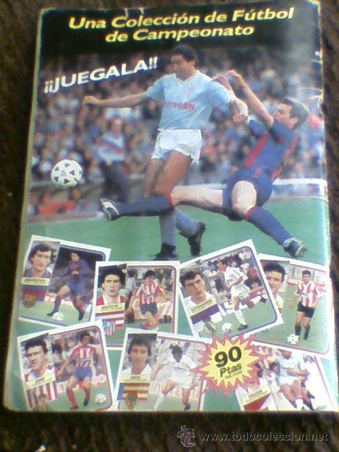 Álbum de fútbol completo: Album cromos completo Este Futbol Liga 89-90 incluido cromo BUSTINGORRI fichaje 11 - Foto 42 - 30617257