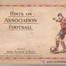 Álbum de fútbol completo: .GRAN ALBUM MUY ANTIGUO COMPLETO DE CROMOS DE FUTBOL PROPAGANDA DE TABACO JOHN PLAYER. Lote 31189642