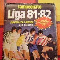 Álbum de fútbol completo: ÁLBUM LIGA 81-82 ED. ESTE. 368 CROMOS.. Lote 31205937