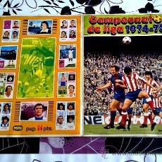 Álbum de fútbol completo: CAMPEONATO LIGA 74 75 FHER DISGRA 1974-1975. Lote 37513744