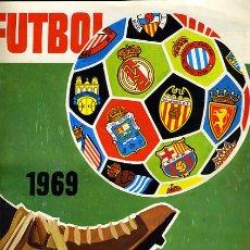 Álbum de fútbol completo: ALBUM FUTBOL, 1968 1969 , RUIZ ROMERO, COMPLETO, VER FOTOS, ORIGINAL ,H. Lote 32043641