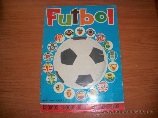 FUTBOL LIGA 75 - 76 ( 1975 - 1976 ) EDITORIAL MAGA COMPLETO ORIGINAL (Coleccionismo Deportivo - Álbumes y Cromos de Deportes - Álbumes de Fútbol Completos)