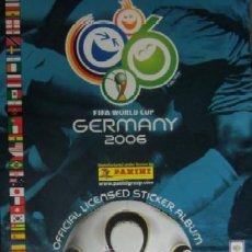 Álbum de fútbol completo: ALBUM FUTBOL MUNDIAL ALEMANIA 2006 DE PANINI. Lote 32866681