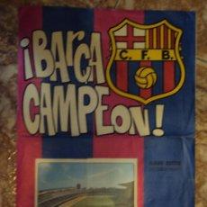 Álbum de fútbol completo: (F-127)BARÇA CAMPEÓN EDICIONES KEISA 1974 COMPLETO. Lote 33011160