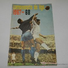 Álbum de fútbol completo: ALBUM CAMPEONATO DE LIGA 1967 - 68 , DISGRA, EDT FHER, COMPLETO, POCAS SEÑALES DE USO. Lote 33305555