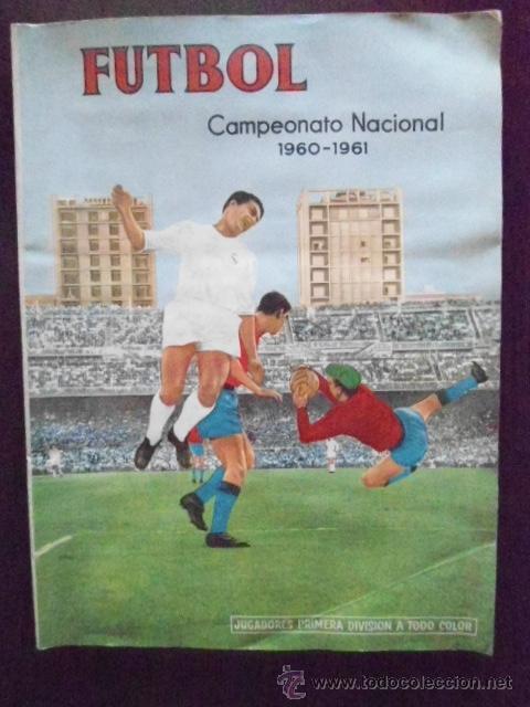 ALBUM COMPLETO FUTBOL 1960/61 EDITORIAL FERCA,EN EXCELENTE ESTADO (Coleccionismo Deportivo - Álbumes y Cromos de Deportes - Álbumes de Fútbol Completos)
