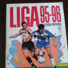Álbum de fútbol completo: LIGA 95-96 DE PANINI ALBUM COMPLETO . Lote 33399949