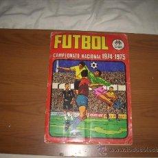 Álbum de fútbol completo: ALBUM DE LA LIGA 1974-75 DE RUIZ ROMERO COMPLETO. Lote 33528171