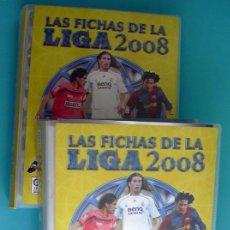 Álbum de fútbol completo: MUNDICROMO LIGA 2008, 07-08 - MUY COMPLETA, 1703 FICHAS, LEER DENTRO. Lote 33548867